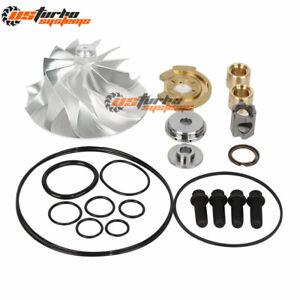 2007.5 - 2010 Duramax 6.6L LMM GT37V Turbo Billet Compressor Wheel + Repair Kit