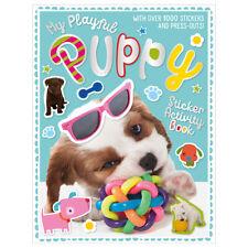 My Playful Puppy Sicker Activity Book