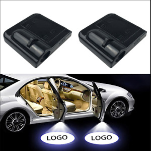 For BMW Courtesy Door LED Logo Projector Light 2Pc Welcome Light M3 Z4 3 Series