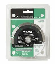 "Hitachi 728734 4-1/2"" Premium Segmented Rim Diamond Saw Blade - Concrete/Masonry"