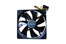 6CM 60mm Black Fan Cooler Fan Case PC Computer Cooling 3 Pin + 4 Pin Molex