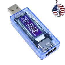 Voltage Meter Ammeter Amp Volt Tester USB Charger Doctor Power Detector