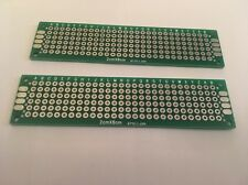 2x Double Sided 8x2 Printed Circuit Board PCB Prototype Breadboard Bread Board G