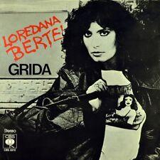 "7"" LOREDANA BERTE Grida/Ricominciare CBS-FULMINE informazione PROMO 1977 like new!"