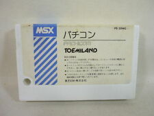 MSX PACHICOM Cartridge only Import Japan Video Game msx