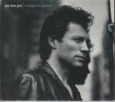 Jon Bon Jovi: Midnight In Chelsea PROMO w/ Artwork MUSIC AUDIO CD Edits Hot/AC