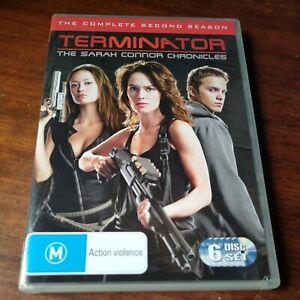 Terminator The Sarah Connor Chronicles Season 2 Second Series Two (DVD 6-Disc)R4