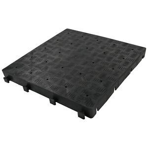 Vorzeltboden Campingboden Kunststoff-Bodenplatten Easy Floor - 50x50x5 cm