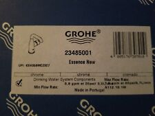 GROHE 23485001 CHROME SINGLE HOLE KITCHEN FAUCET NEW IN BOX