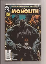 THE MONOLITH #1 NM ORIGIN + 1ST APP. OF THE MONOLITH *SIGNED BY PALMIOTTI* 2004