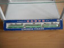 Tomica Bullit Train in White/Green in Box (Made in Japan)