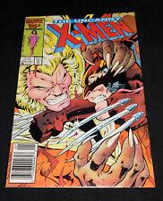 UNCANNY X-MEN 213 high grade wolverine v sabretooth 1st cameo mister sinister