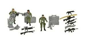 Special Forces Army Toy Soldiers Action Figures Playset With Accessories Militar