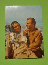 KARL MAY - WINNETOU III - FILMPOSTKARTE NR. 30 / PIERRE BRICE / LEX BARKER