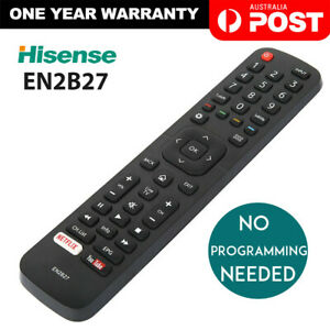 HISENSE EN2B27 TV Remote Control FOR OEM EN-2B27 RC3394402/01 3139 238 AU