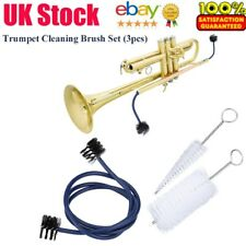 More details for extra long trumpet double ended cleaning snake brush - 3 brushes-uk local