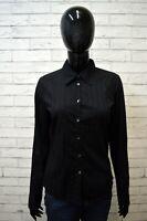 CALVIN KLEIN Camicia Nera Donna Taglia S Maglia Camicetta Shirt Women's Black