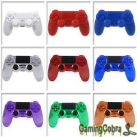 ABS Controller Shell Repair Cover for DualShock 4 PS4 with Full Set Buttons Kits