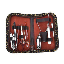 Nail Care 10X Personal Manicure Pedicure Set Travel Grooming Kit wc