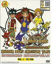 DIGIMON XROS WARS: HUNTER BOYS CROSSING TIME VOL. 1-25 END ANIME DVD BOX SET