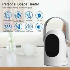 Portable 1000W Space Heater Electric Fan Ceramic Air Warmer Hot Fan Home Office