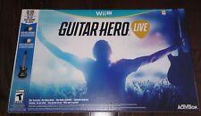 WII U WIIU GUITAR HERO LIVE REDUCED!!!! ** CLEARANCE!! ** NEW !! **