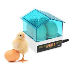 4 Digital Egg Incubator Hatcher Auto Temperature Control Turning Chicken I9G8