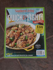 SOUTHERN LIVING QUICK & LIGHT RECIPES 2018 MAGAZINE  NEW