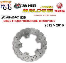 KIT DISCO FRENO POSTERIORE MALOSSI PER YAMAHA T MAX TMAX 530 IE 4T LC ANNO 2012