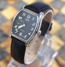 Oris  Men's Tonneau Regulator 27 Jewel Automatic Stainless Steel Date Watch 7471