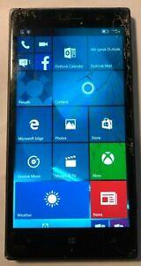 [BROKEN] Nokia Lumia 830 16GB Green (AT&T) Fast Ship Repair Cracked Glass
