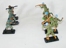 JOB LOT 7 VINTAGE BRITAINS DEETAIL UNITED NATIONS & OTHER  SOLDIERS 1971, 1992