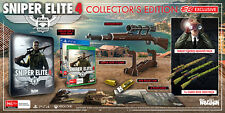 Sniper Elite 4 Collector's Edition Xbox ONE PAL *NEW*+Warranty!
