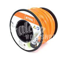 """GENUINE STIHL STRIMMER WIRE 2.4mm (0.95"""") 261.0m ROUND ORANGE BRUSHCUTTER LINE"""