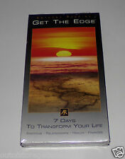 Get The Edge Anthony Robbins 7 Days To Transform Your Life VHS Video - NEW