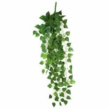 Artificial Fake Hanging Vine Plant Leaves Decoration, Green, 90 x 40 cm