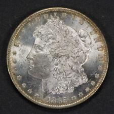 1885-O $1 MORGAN SILVER DOLLAR, LIGHT RIM TONING *UNCIRCULATED* LOT#M990