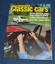 Thoroughbred & Classic Cars July 1982 buying a Ford Escort Mexico, Esprit Turbo