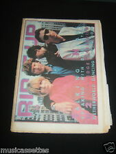 NZ MUSIC MAG 83 TALKING HEADS (A FLOCK OF SEAGULLS/IGGY/PRINCE/ANNABEL LAMB ADS)