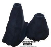 For Audi 100 C4 A6 1991-1997 Gear & Handbrake Gaiter Black Suede