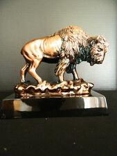 Buffalo Bison Figurine Sculpture Statue Great Plains Western Lodge
