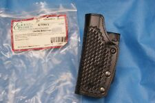 """Gould Goodrich Double Retention Holster Black Weave Left Hand Springfield XD 4"""""""