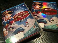 Disney Pinocchio Platinum Edition (DVD, 2009, 2-Disc Set with Slip Cover)