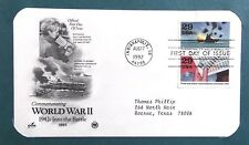 FDC Stamp WW II Rationing Battle of Midway 17Aug1992 Indianapolis IN #26