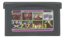 27 in 1 Multicart GBA Game Boy Advance w/ Case Castlevania Spiderman X-men DK