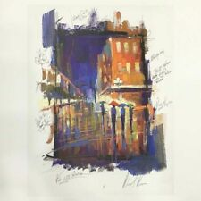 """Michael Flohr, 4 Art Prints With """"City Expressions"""" Hard Cover Art Book & DVD"""