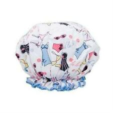 NEW NWT Spa Sister Bouffant Shower Cap Lingerie Print Mother's Day Gift