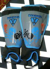 Vizari Skully Soccer Shin Guards Youth Medium * Soccer Gear for Boys Girls * EUC