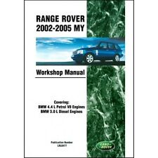 Range Rover Workshop Manual 2002-2005 RR02WH NEW