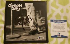 Mike Dirnt signed Green Day vinyl promo 7 inch record Beckett / BAS #B95921